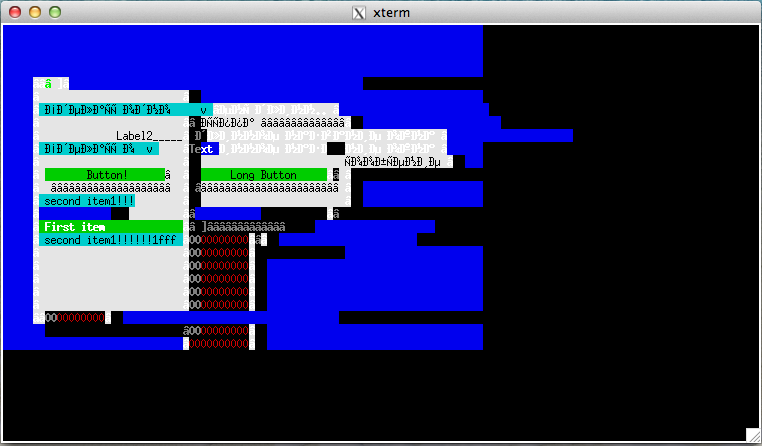 ConsoleFramework-MacOs-xterm
